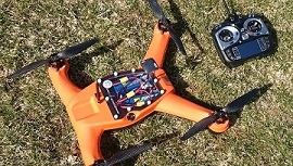Drones for fire control