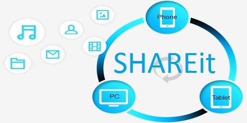 تحميل برنامج شريط ShareIt لتبادل الملفات نسخة الويندوز