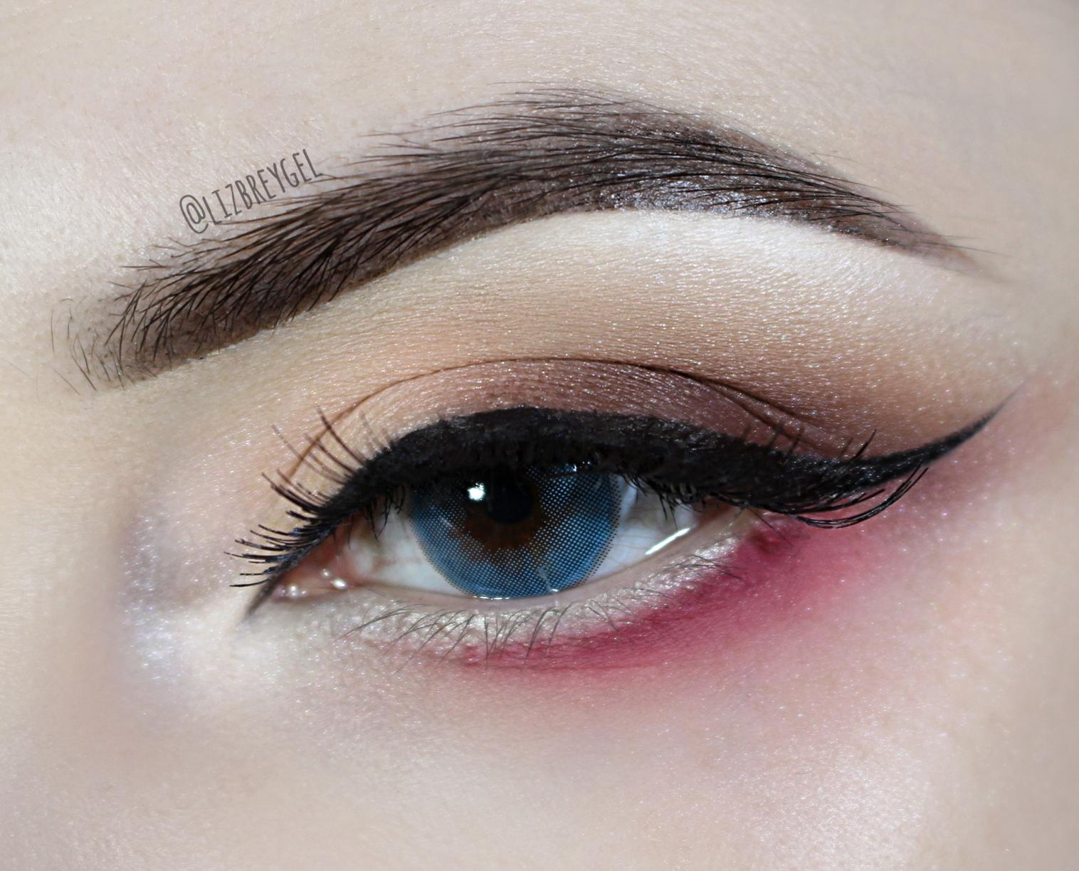 lentes de contato coloridas antes depois resenha blogueira doll like blue eyes enlarging lens