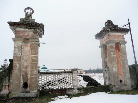 Самарський Свято-Миколаївський монастир. Зруйнована брама