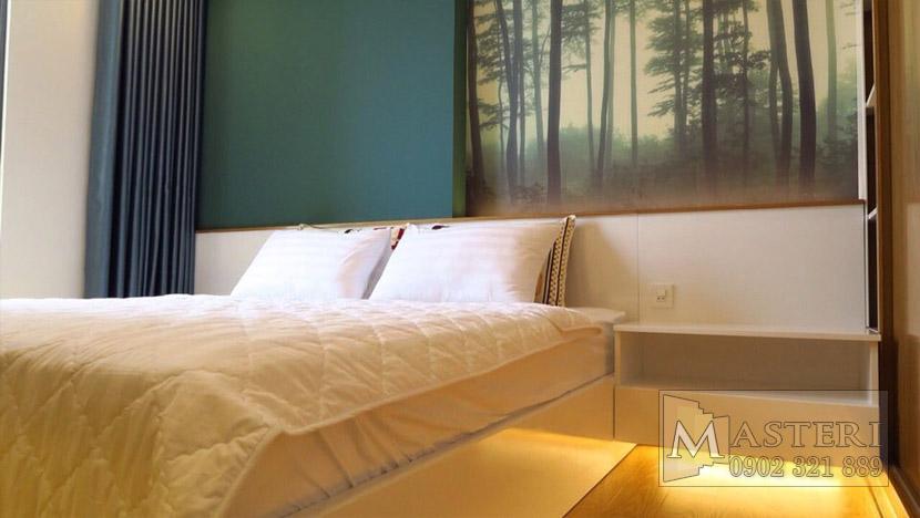 Masteri Thảo Điền căn hộ cho thuê - phòng ngủ chính