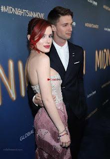 Bella Thorne looks stunnign in a designer gown at the Premiere of Midnight Sun ~ Exclusive Galleries