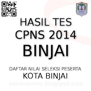 hasil tes CPNS Binjai