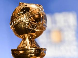 Calmantes vestidos azules en los premios Globo de Oro 2019