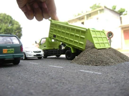 hino lohan miniatur truk