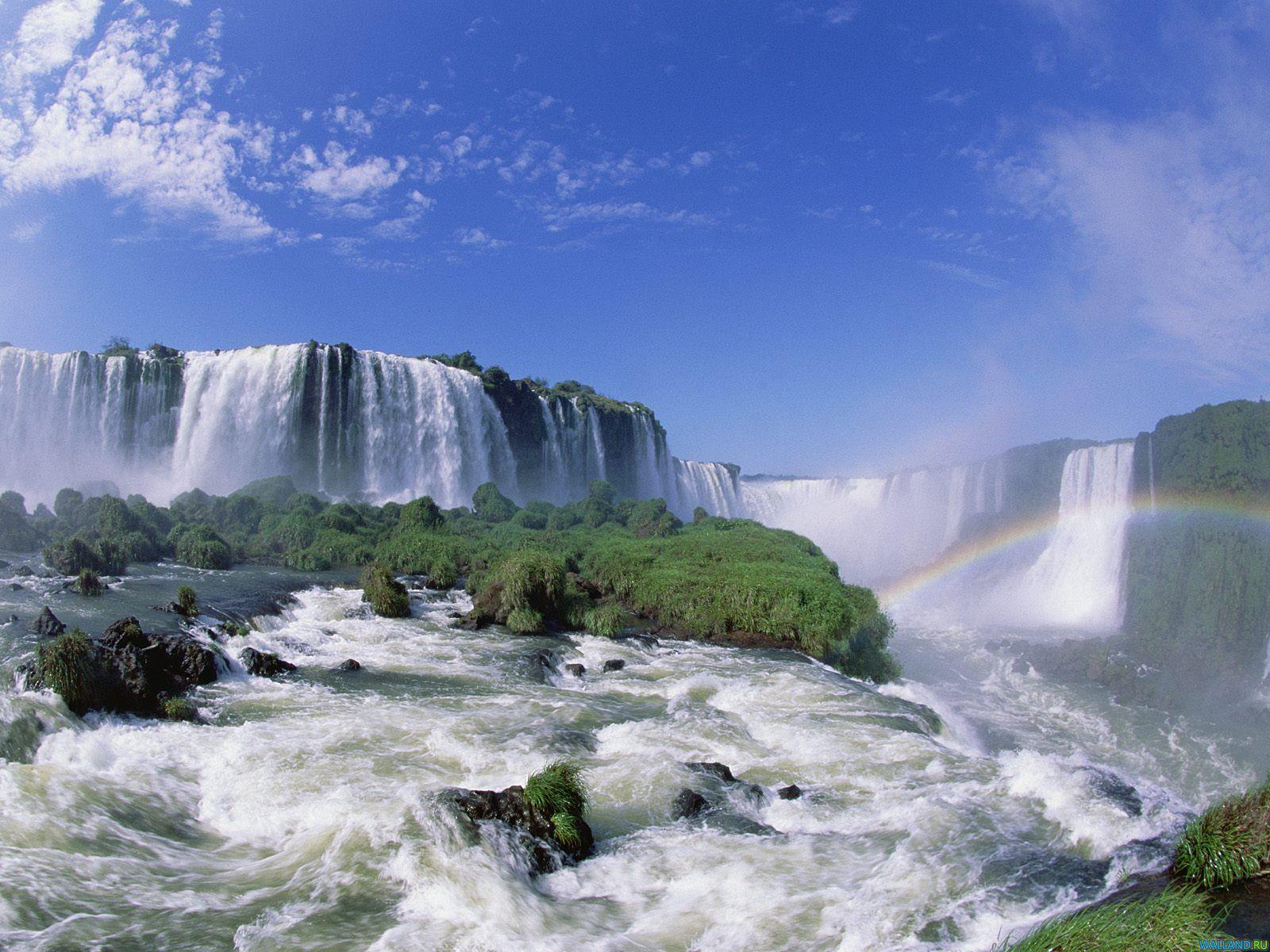 paraguay travel images wallpaper Iguazu Falls