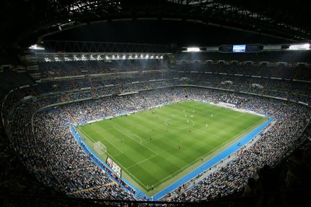 Santiago Berbabéu, Madri