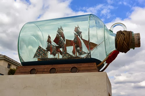 Nelson's Ship in a Bottle Yinka Shonibare