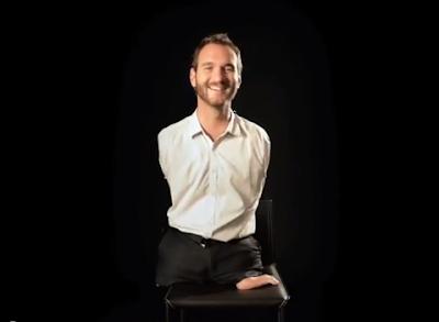 Ник Вуйчич - мотвационный оратор без рук и ног