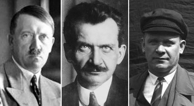 Ο Αδόλφος Χίτλερ, Ο Σοσιαλδημοκράτης Otto Wels και ο Κομμουνιστής πολιτικός Έρνστ Τέλμαν