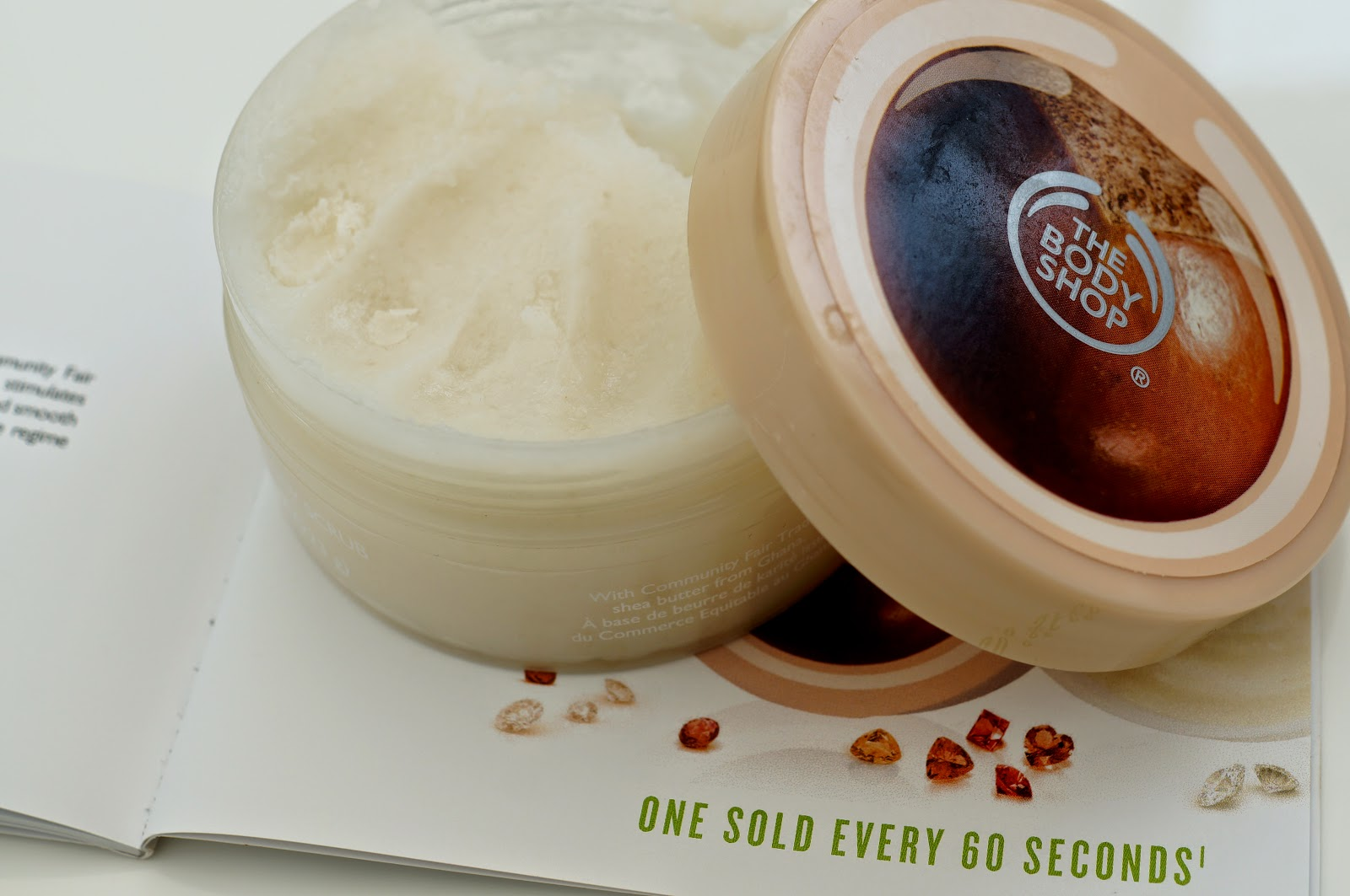 The Body Shop Exfoliator