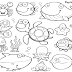 Sea Animal Coloring Pictures
