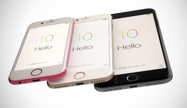 iPhone 5SE & iPhone 6s & iPhone 7 & iPhone 7 Plus Concept