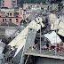 Tragedia en Italia: Se derrumbó un puente de 90 metros de altura en una autopista en #Génova y hay al menos 35 muertos