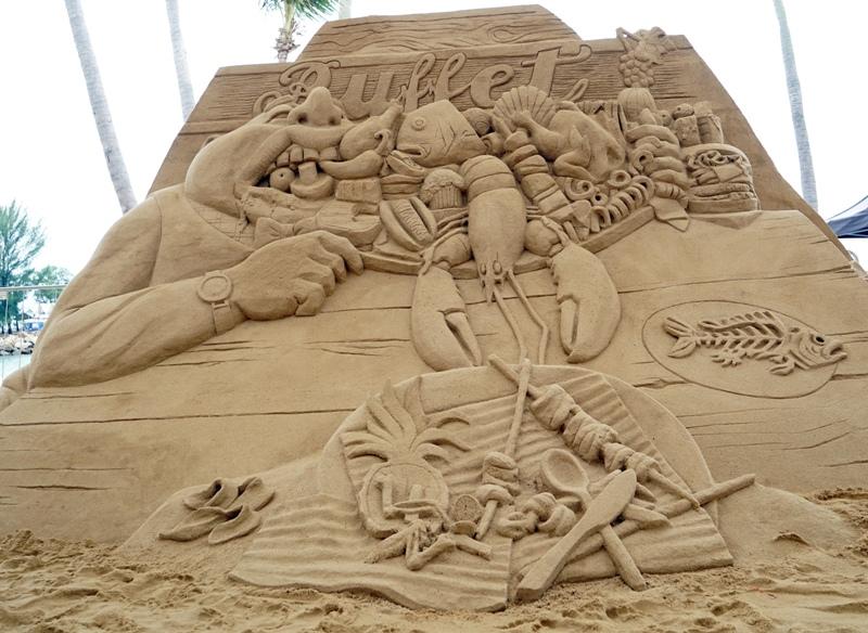 sentosa sand sculpting so kiasu