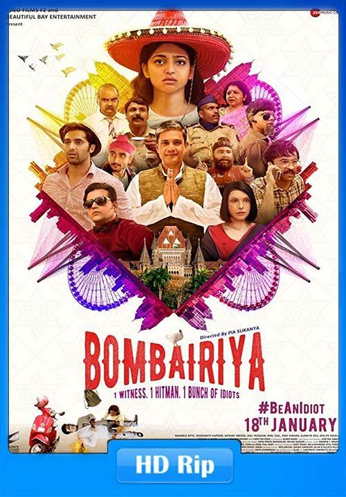 Bombairiya 2019 WebRip Hindi 720p x264   480p 300MB   100MB HEVC