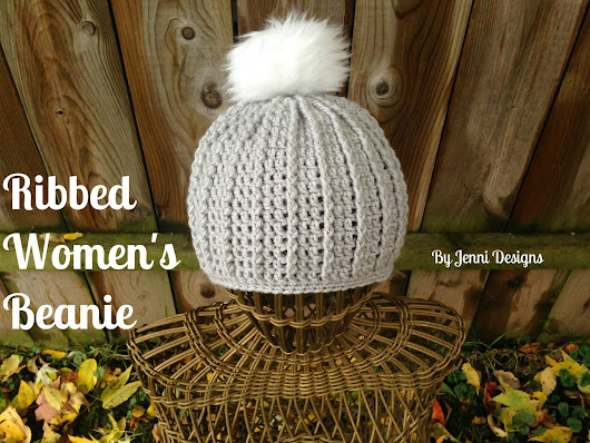 Free Crochet Pattern: Ribbed Women's Beanie