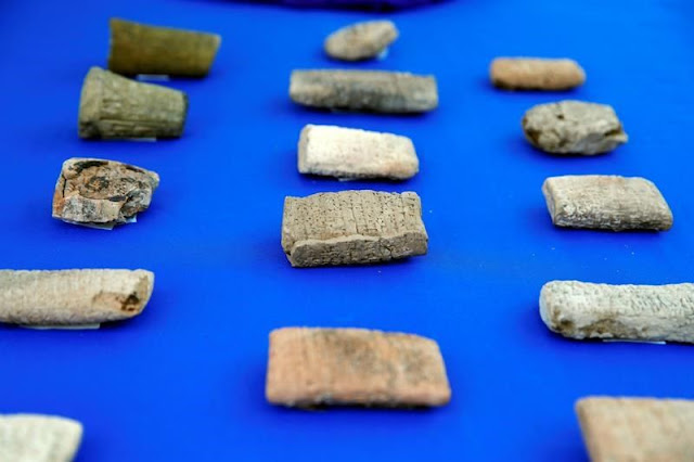 US returns 3,800 ancient artefacts to Iraq