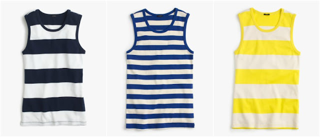 J. Crew Perfect-Fit Striped Shell $13 (reg $25)