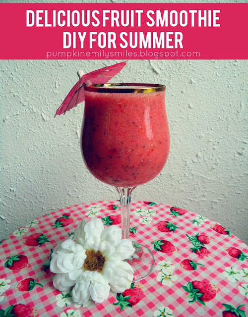 Delicious Fruit Smoothie DIY for Summer