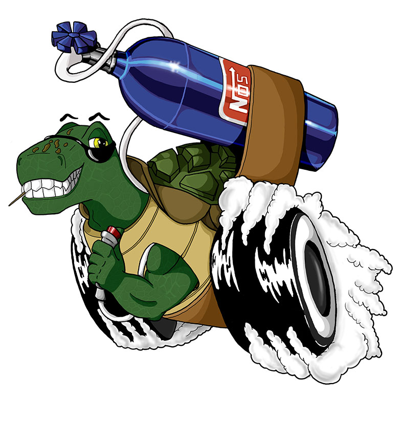 twisted aces turbo turtle