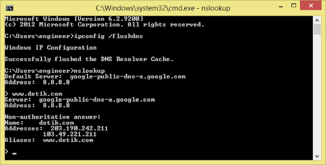 how to clear my dns cache