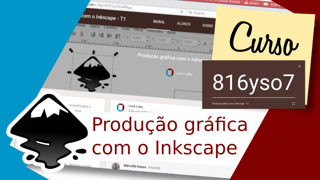 Curso de produção gráfica com o Inkscape