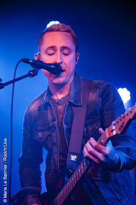 Marie Le Bannier Rock'n'Live Rock Concert Live Paris Yellowcard Ryan Key Ocean Avenue