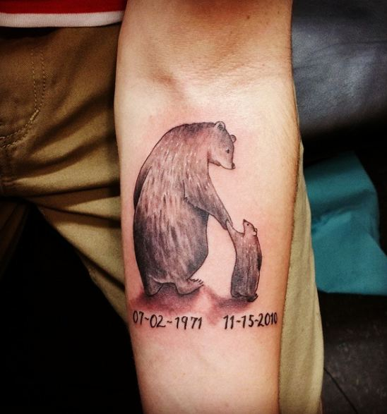 50+ Adorable Father Son Tattoos For Men (2018