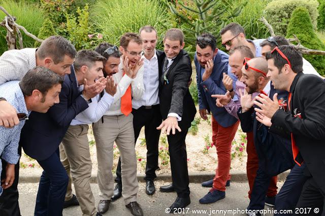 photo de groupes fun le mariés et ses potes