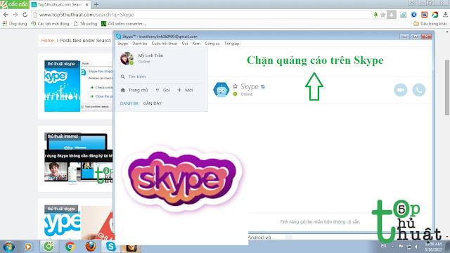 Thủ thuật chặn quảng cáo trên Skype vĩnh viễn