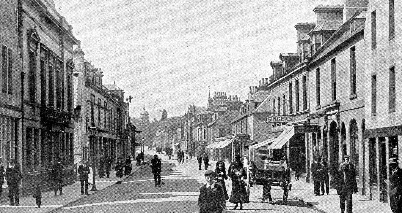Tour Scotland Photographs: Old Photographs High Street ...