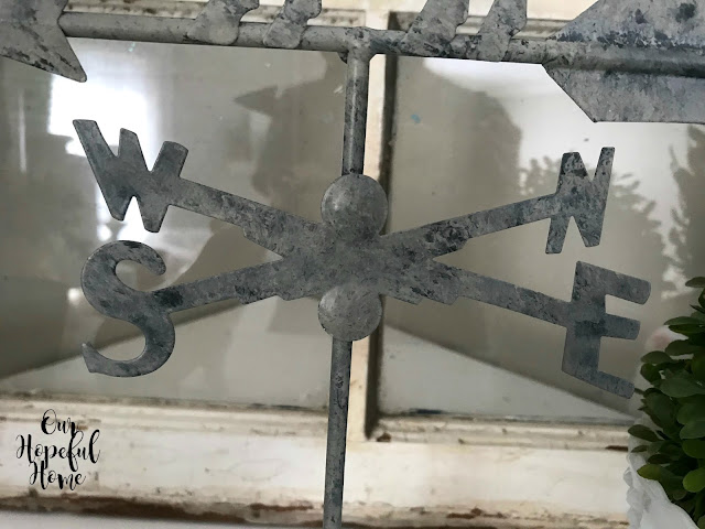 N S E W weathervane directions
