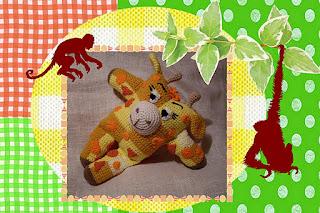 amigurumi wild animal toy