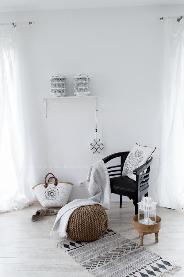 Deko-Donnerstag mit einem Wohnzimmer Update, Deko-Ideen, Inspirationen,Boho-Elemente, Ibiza Korbtasche selber gestalten