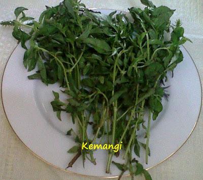 Resep sayur gedi Manado