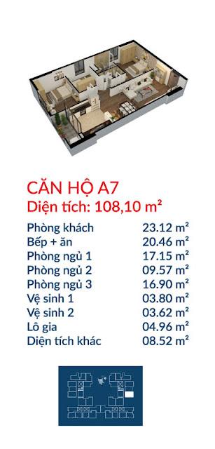 Căn hộ A7 Việt Đức Complex