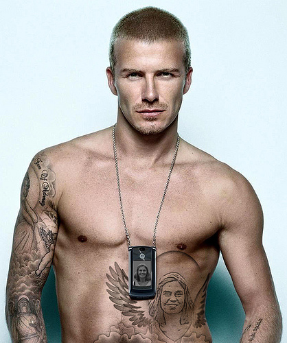 David Beckham Tattoos and The Meaning | A Star News & Gallery