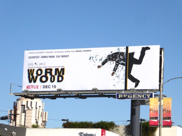 Wormwood mini-series billboard