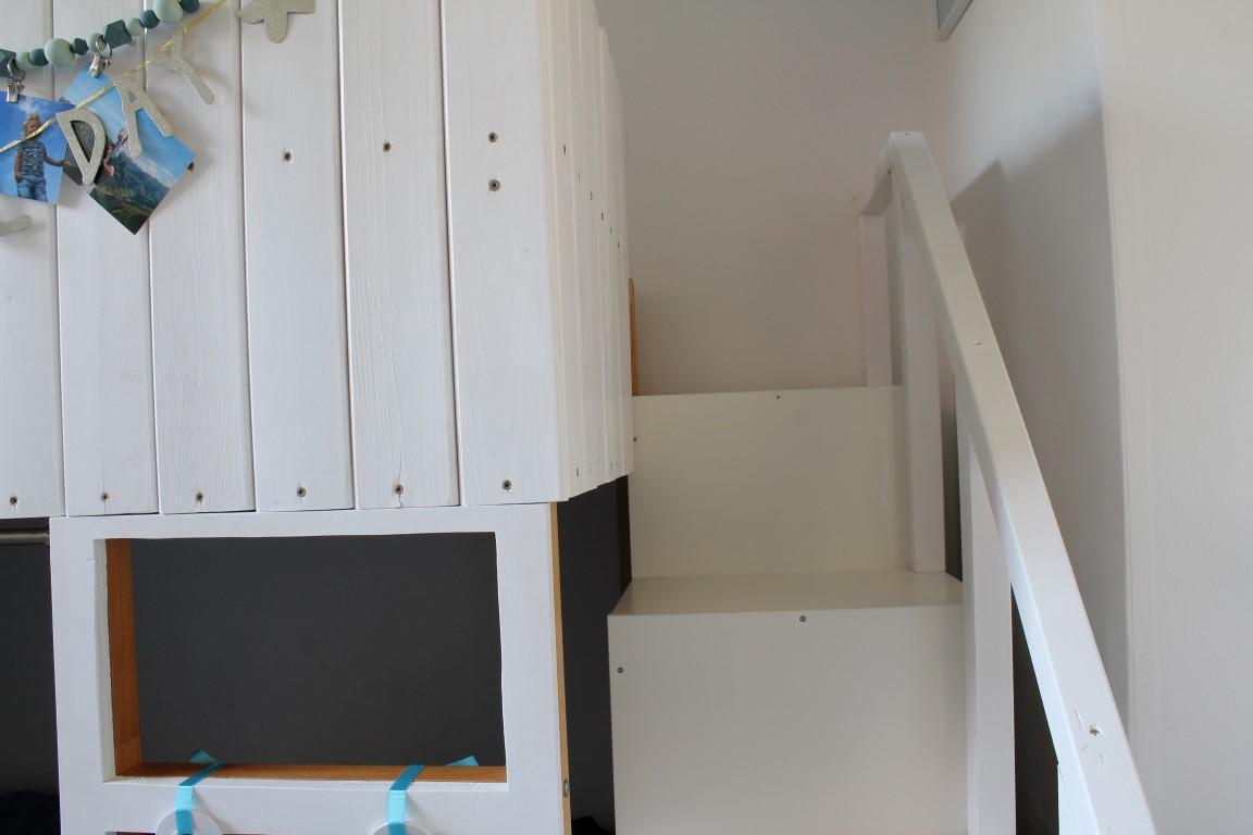kleines freudenhaus: kinderzimmer makeover mit ikea kura hack