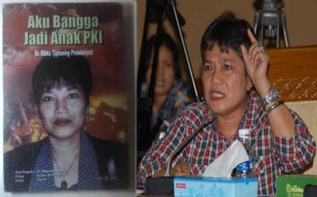 """Penuli buku """"Aku Bangga Jadi Anak PKI"""" Ketua DPP PDIP Ribka Tjiptaning Proletariyati"""