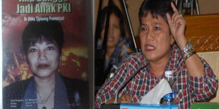 """Politisi PDIP Penulis """"Aku Bangga Jadi Anak PKI"""" Minta Jokowi Akui Keberadaan PKI"""