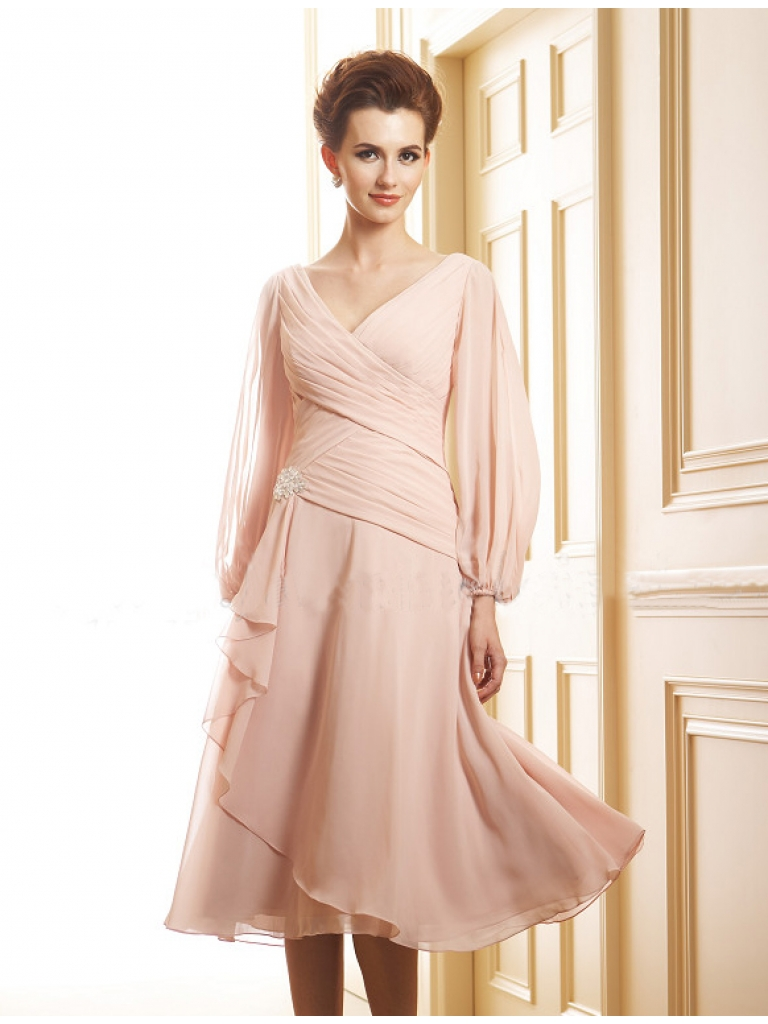 WhiteAzalea Mother of The Bride Dresses: Tea Length Mother ...