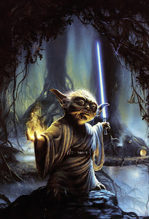 Yoda Art From Star Wars