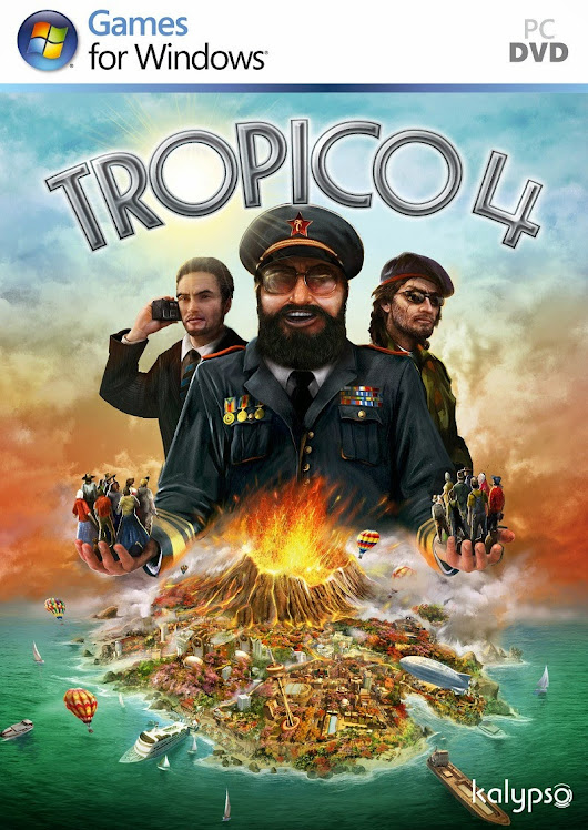 TROPICO 4 Full Version Game - Free Download Games - PC Game - Full Version Games