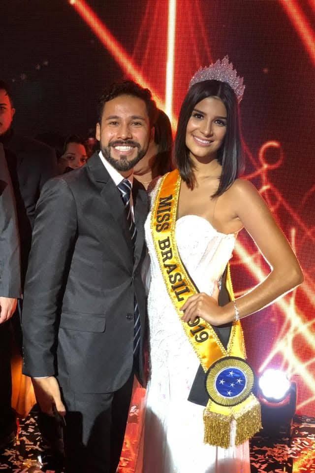 Palestrante Paulo Filho e Miss Brasil Be Emotion Júlia Horta. Foto: Daniel Filho