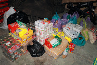 Relief food for Knysna fires victims