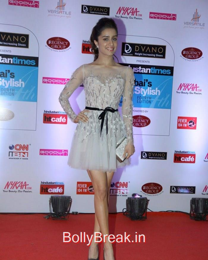 Shraddha Kapoor, Mumbai's Most Stylish Awards 2015 Full Photo Gallery