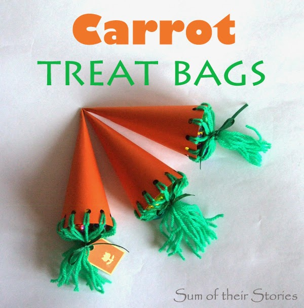 Carrot Treat Gift Bags