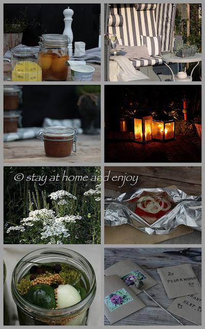 Jahresrückblick August 2017 - stay at home and enjoy
